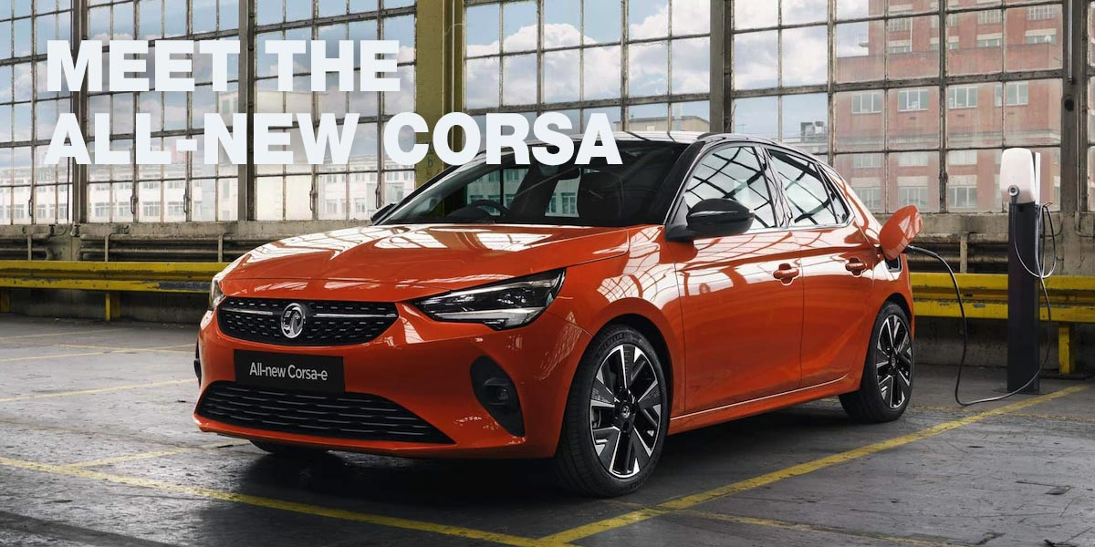 The all new electric Vauxhall Corsa