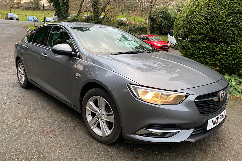 2018 Vauxhall Insignia Grand Sport 1.5 Turbo (165ps) SRi S/S (Reference 3123/CR)