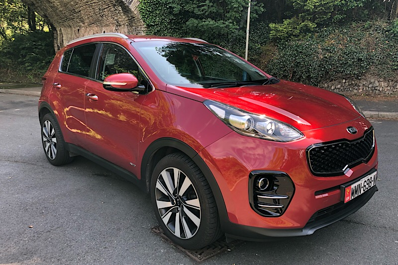 2016 Kia Sportage 2.0 CRDi (134ps) (AWD) KX-3 Automatic (Reference 3401)