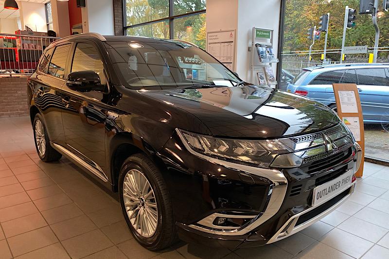 2018 Mitsubishi Outlander 2.4 (132ps) 4WD PHEV RX3 (Reference 3414)