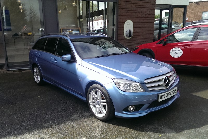 2010 Mercedes C-Class 1.8 C250 Blue F Elegance Estate Automatic (Reference 3326)