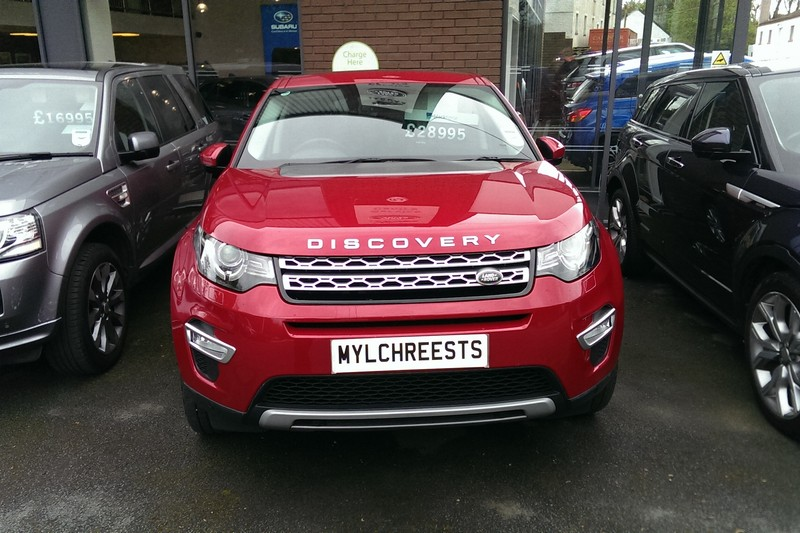 2016 Land Rover Discovery Sport 2.0 TD4 HSE Luxury Automatic (Reference 3328)