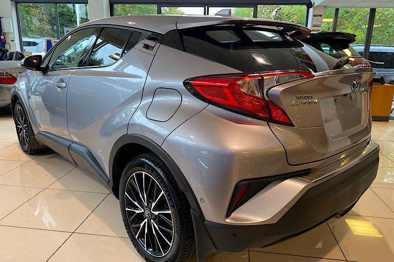 2017 Toyota C-HR 1.8 VVT-i (120ps) Excel Hybrid Coupe 5 Door Auto Stepless (Reference 3455)