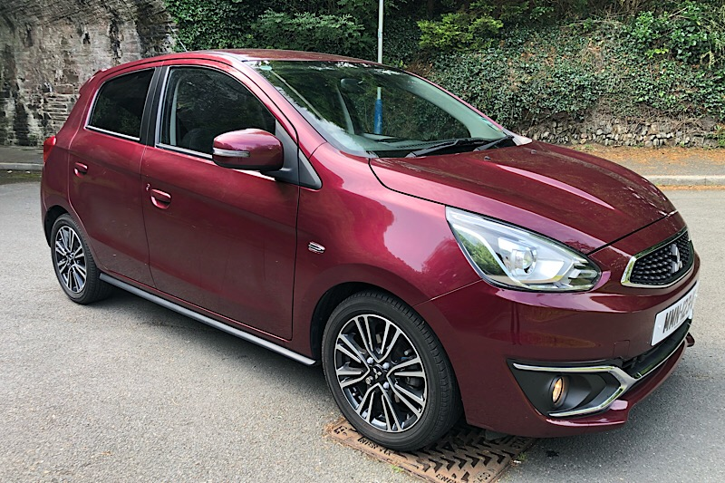 2017 Mitsubishi Mirage Juro 1.2 (79ps) (Reference 2631)