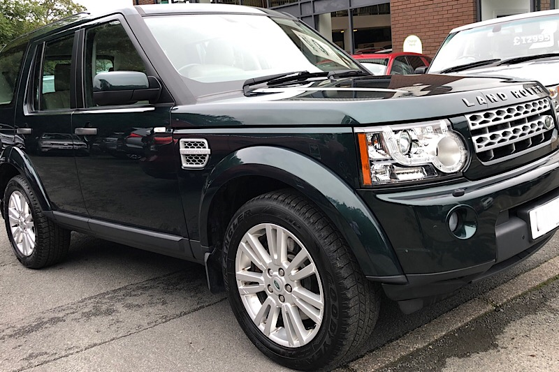 2012 Land Rover Discovery 4 3.0 SDV6 (255ps) XS (Reference 3421)