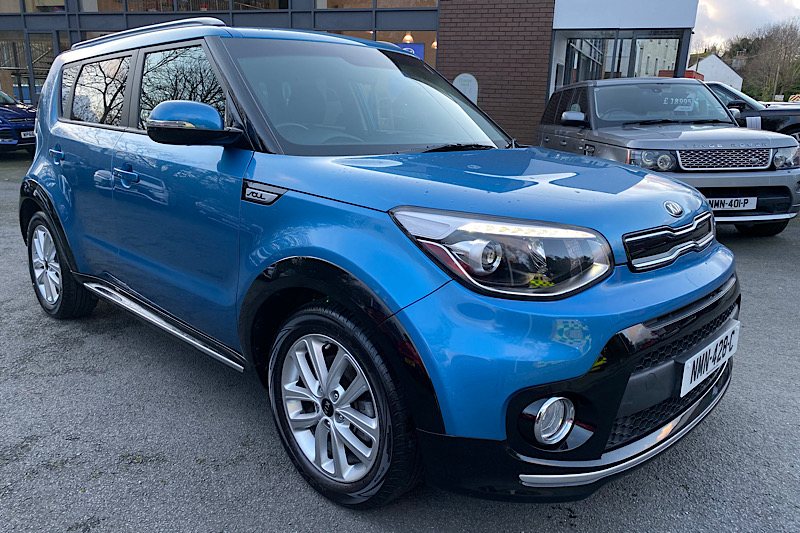 2017 KIA SOUL 2 1.6 CRDi (134PS) (Reference to follow)