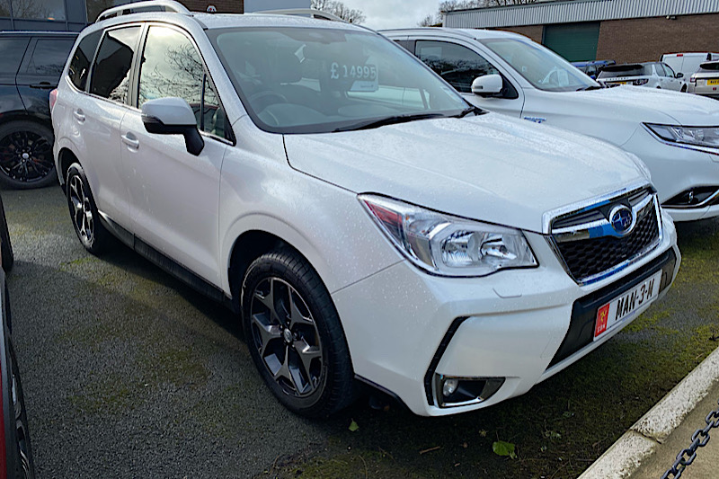 2013 Subaru Forester 2.0 (240ps) 4x4 XT (Reference SOR)