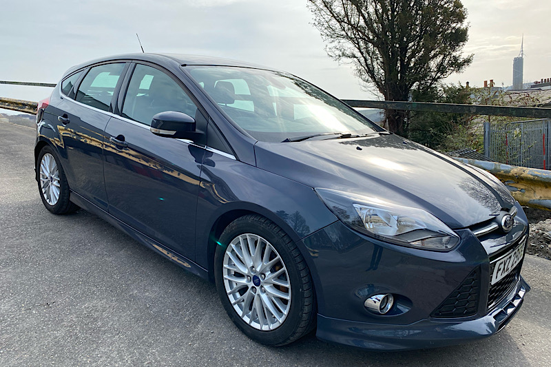 2014 Ford Focus 1.6 TDCi (115ps) Zetec S (Reference 3528)