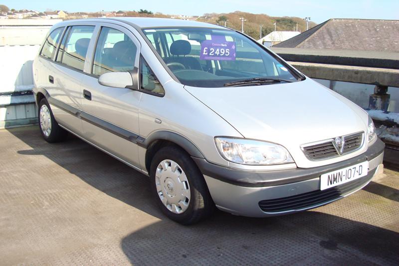 2003 Vauxhall Zafira 1.6 Club (Reference 3181)