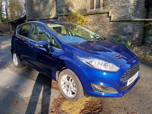 2017 Ford Fiesta 1.0 Zetec Eco Boost Automatic (100ps) 5 Door (Reference 3186/CR)