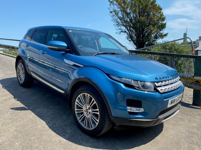 2012 Land Rover Evoque 2.2 SD4 Automatic  5 Door (Reference 3544)