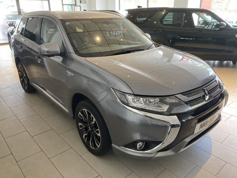 2017 Mitsubishi Outlander PHEV  (ref 3726)