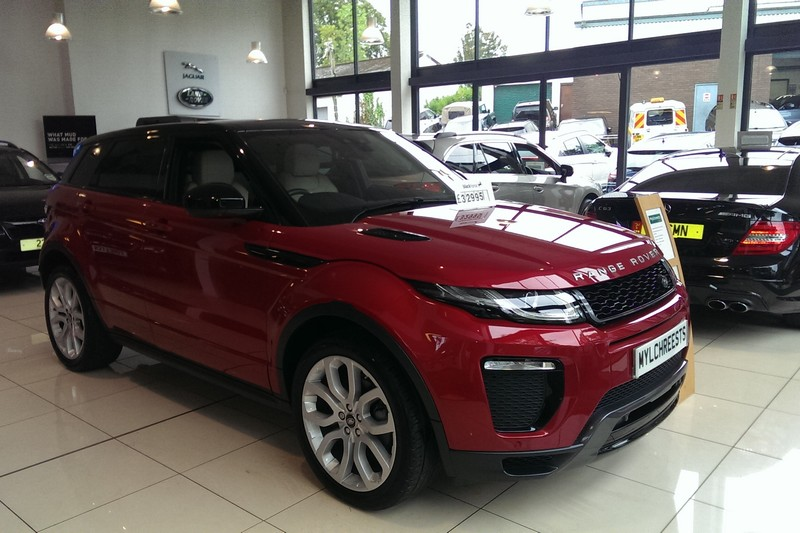 2016 Range Rover Evoque 2.0 TD4 HSE Dynamic (180ps) Automatic (Reference SR)
