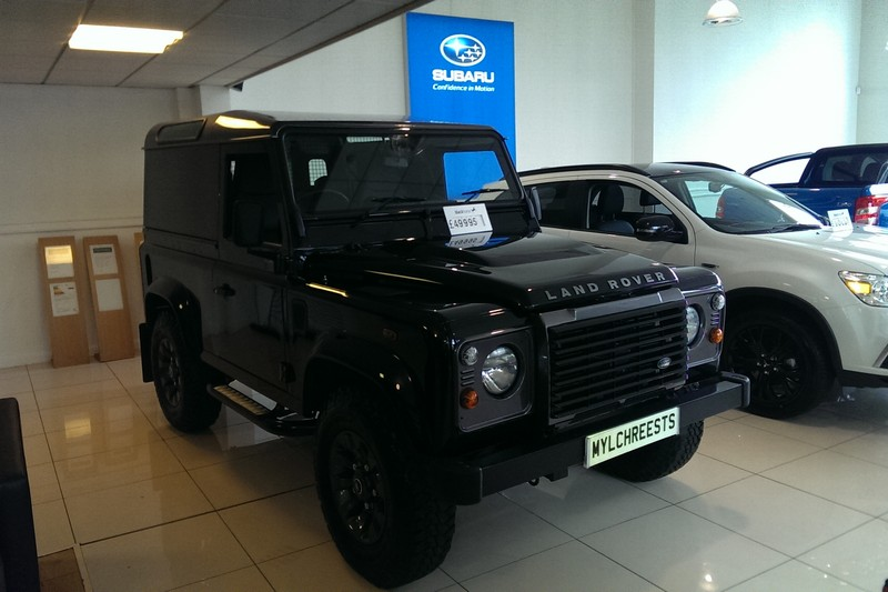 2013 Land Rover Defender 90 LXV 2.2D 65th Anniversary Model (Reference SR)